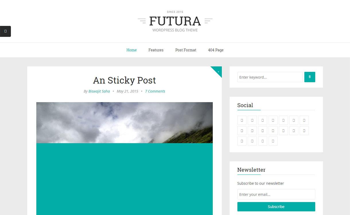 futura-best-premium-minimal-wordpress-theme