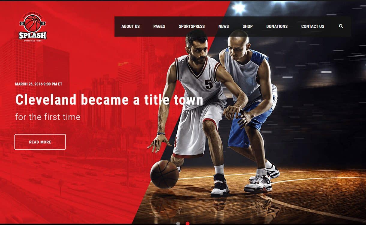 splash-best-premium-sports-wordpress-theme