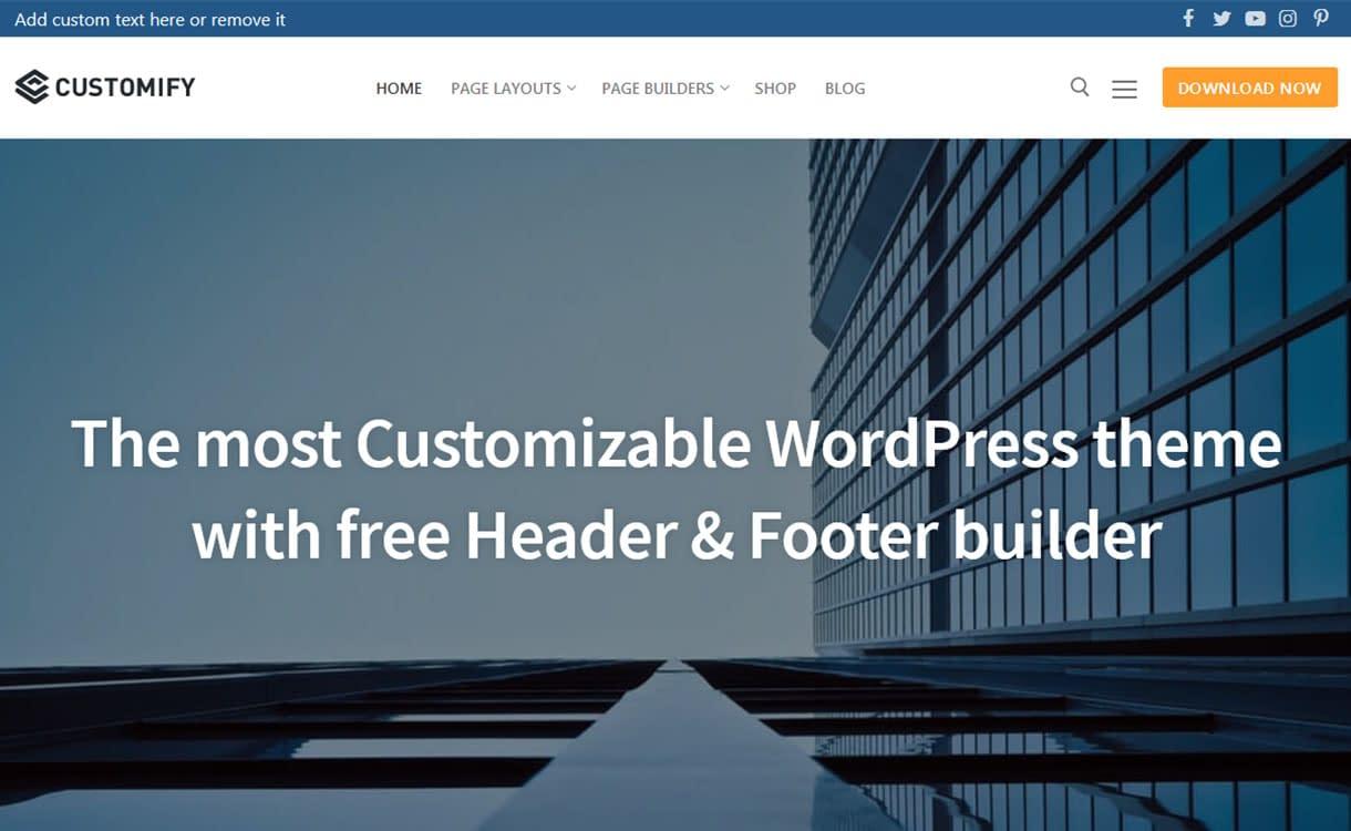 customify-best-free-buddypress-wordpress-theme