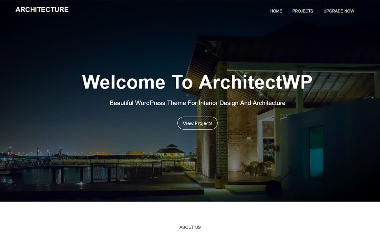 architectwp-best-free-architecture-wordpress-theme