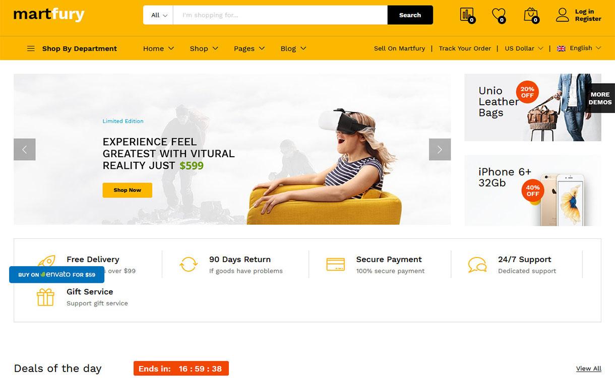Martfury - Premium Marketplace WordPress Theme