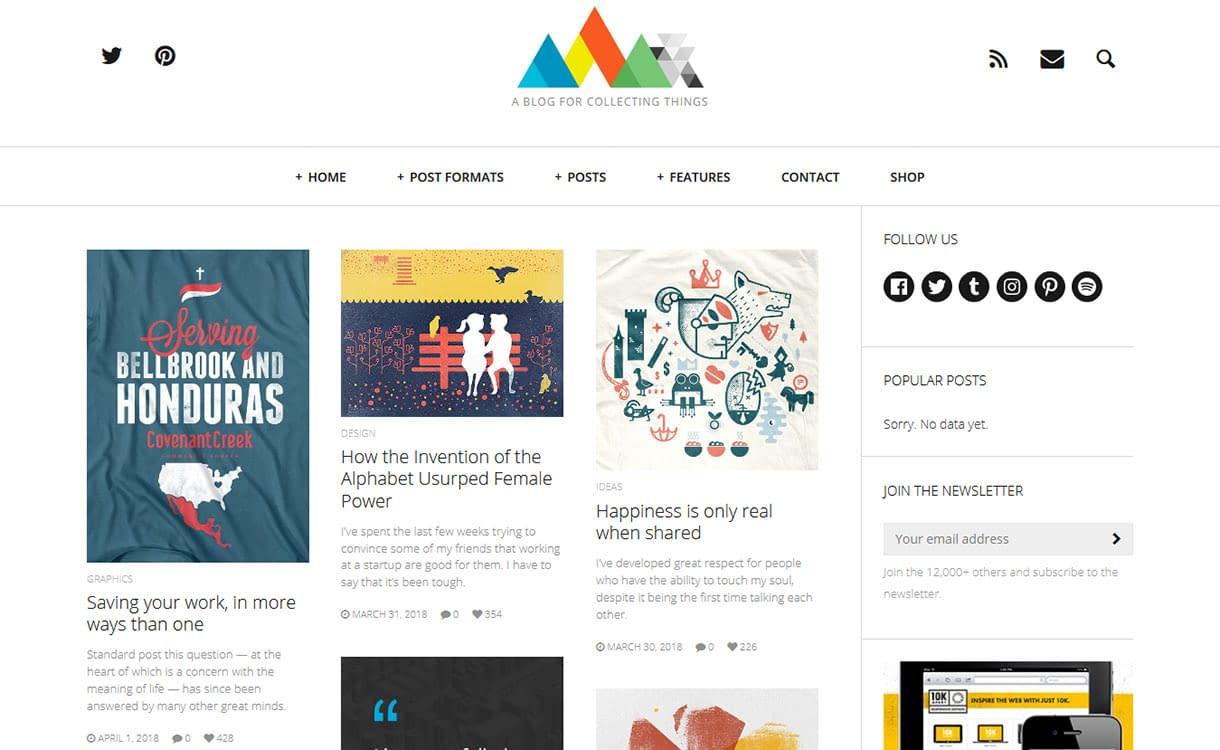 HEAP Blog WordPress Theme