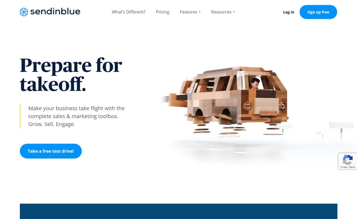 Sendinblue - Best Live ChatBox Software