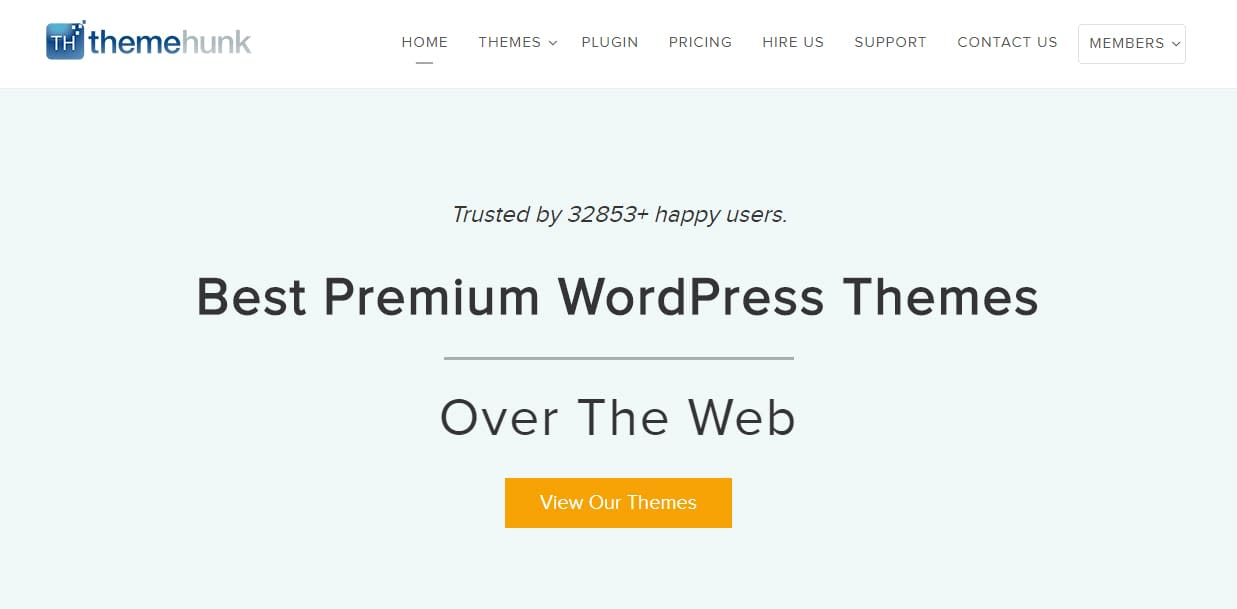 ThemeHunk - Black Friday and Cyber Monday WordPress Deal 2018