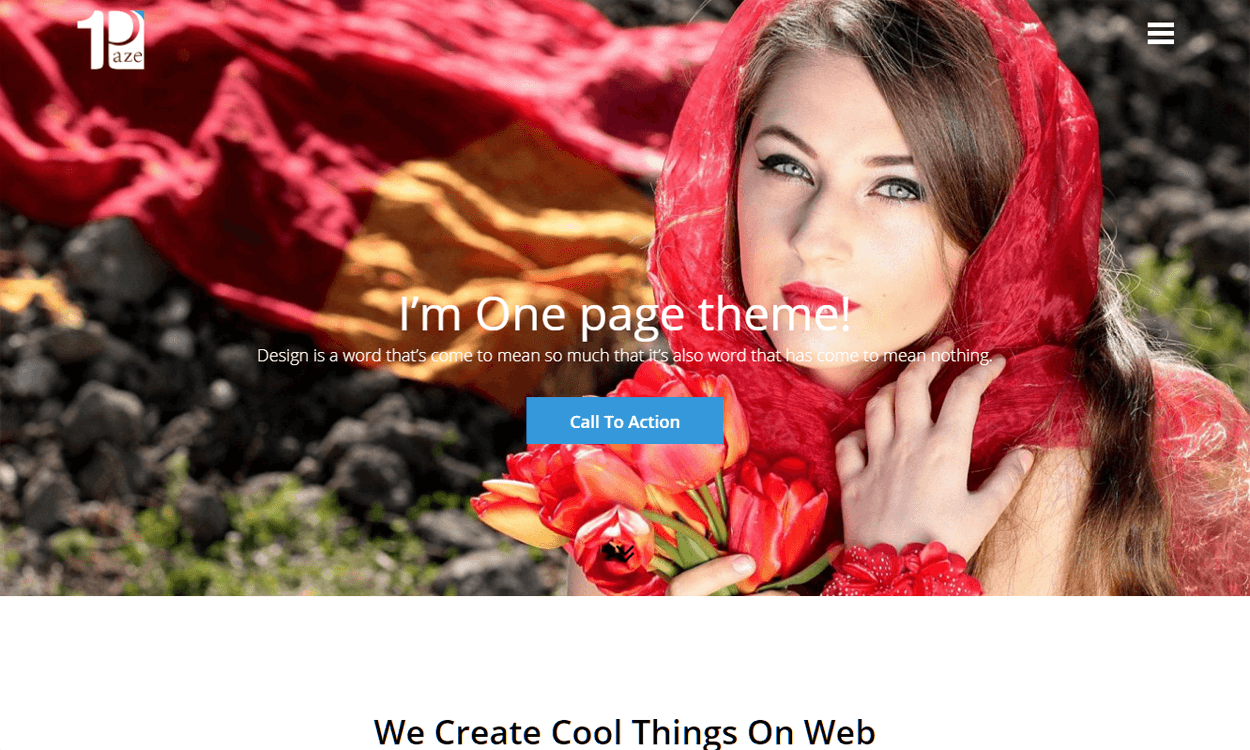 OnePage Best Agency WordPress Themes and Templates (Free)