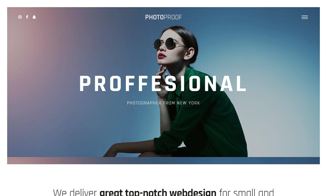 Rife - Portfolio and Photography WordPress Theme