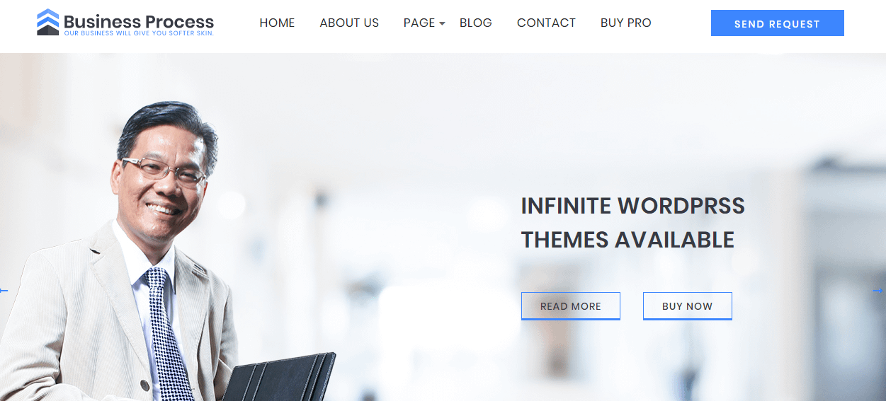 Business Process - Free WP Business Theme