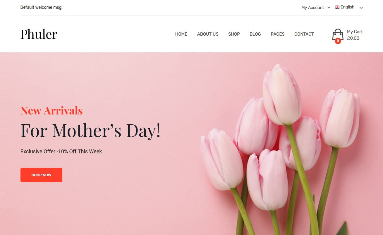 10+ Best Premium Florist and Floriculture WordPress Themes