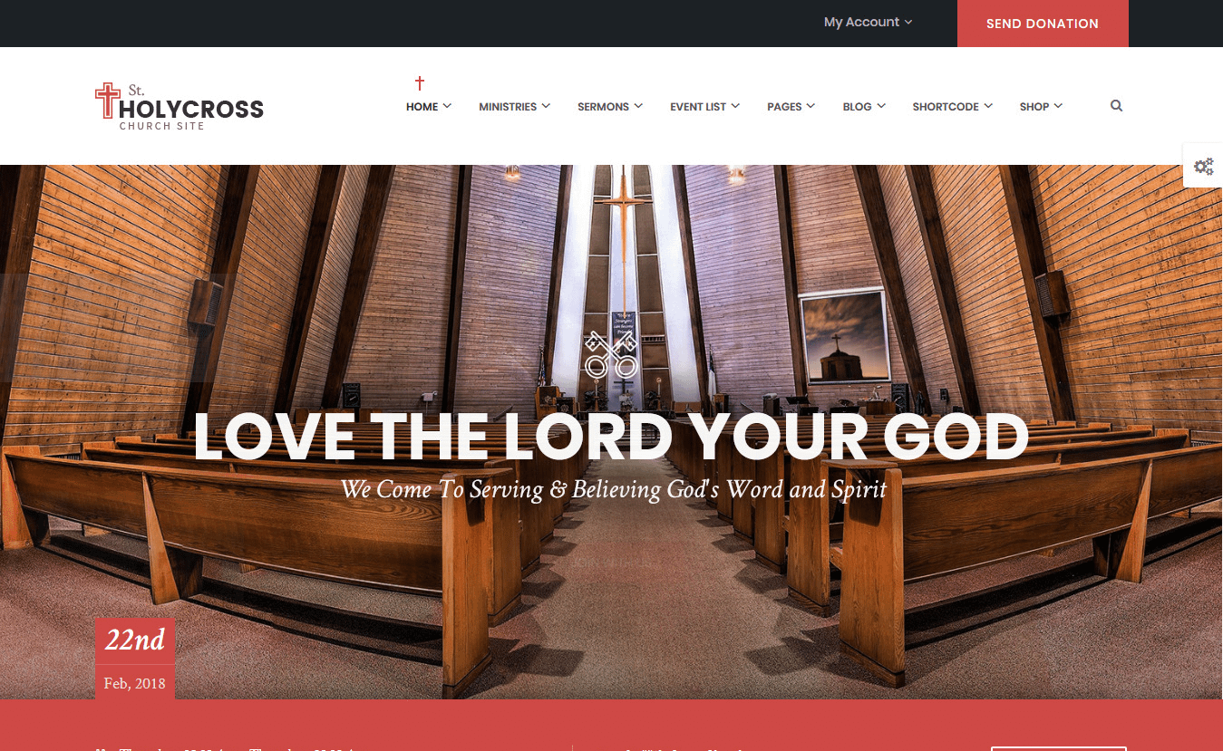 10+ Best Premium Church WordPress Themes
