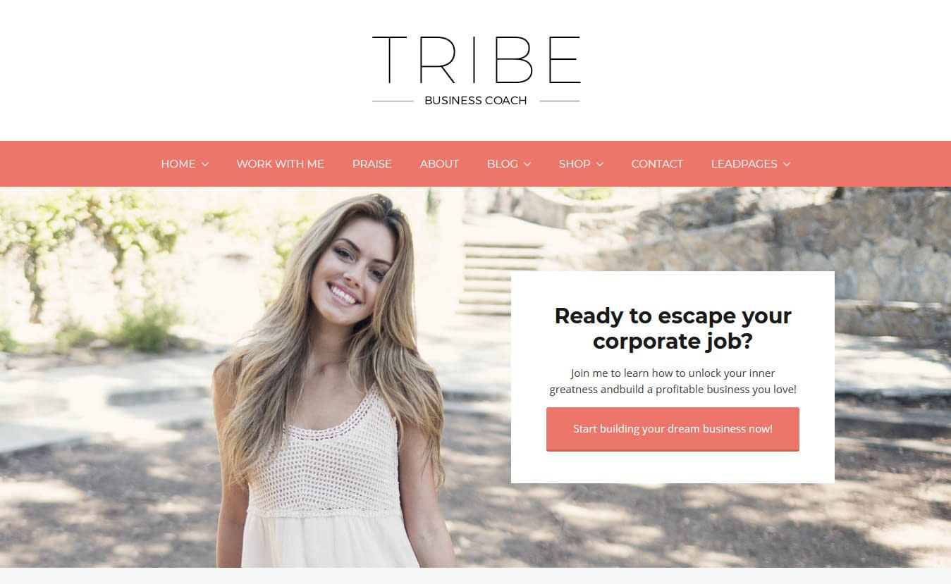 Tribe Coach - Premium Fitness WordPress Theme