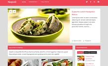 Napoli - Free Food Magazine Theme