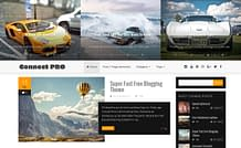Connect Pro - Modern Blogging WordPress Theme