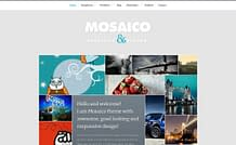 Mosaico - Unique magazine WordPress theme