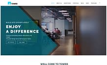 Tower WP - responsive business WordPress theme