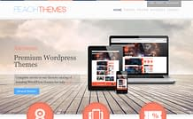 Peach Themes - Responsive WordPress Theme Store