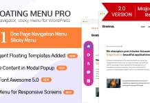 WP Floating Menu Pro - Premium WordPress Navigation Menu Plugin