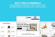 Best Free WordPress eCommerce Online Store WooCommerce Themes