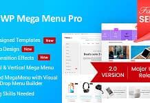 WP Mega Menu Pro - WordPress Mega Menu Plugin