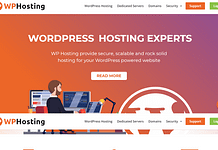 WP Hosting - Reliable WordPress Hosting Provider