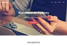 Sydney - Free WordPress Business Theme