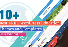 Best Education School College WordPress Themes and Templates (Free)