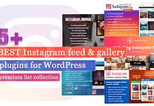 Best Instagram Feed and Gallery Plugins for WordPress