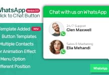 WP WhatsApp Button – Premium WordPress WhatsApp Button Plugin
