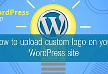 How to upload custom logo on your WordPress Site