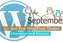 Best Free WordPress Themes September