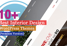 Best Premium Interior Design WordPress Themes