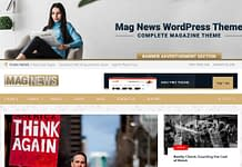 Mag News - WordPress Magazine Theme