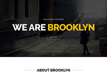 Brooklyn – Creative Multipurpose WordPress Theme
