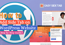 How to Add Side Tab on WordPress Website? (Step by Step Guide)