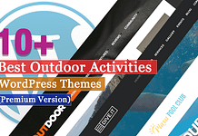 Best Premium Outdoor Activities WordPress Themes