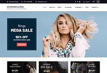 eCommerce Gem WordPress Theme