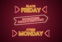 Black Friday Cyber Monday Deals on WordPress 2020