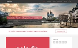 sparkling-free-wordpress-theme