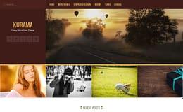 Kurama - Free WordPress Blog Theme