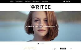 Writee - Free WordPress Blog Theme