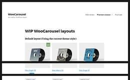 WooCorousel - Free WooCommerce product carousel
