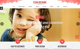 Childcare - Free Educational WordPress Theme