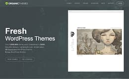 Organic Themes - Beautiful WordPress Theme Store