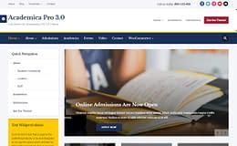 Academia Pro - Premium Education WordPress Theme