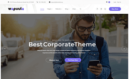 Wapuula-Multipurpose Corporate WordPress Theme
