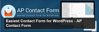 AP Contact Form - Free WordPress Plugin
