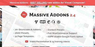 Massive Addons - Visual Composer Addons