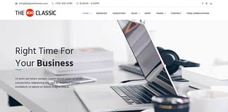 The 100 - Free Responsive WordPress Multipurpose Theme