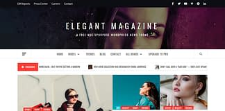 Elegant Magazine - WordPress News Theme