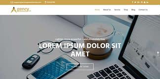 Agency Lite - Free Business WordPress Theme