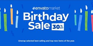 Envato Birthday Sale - 30% OFF